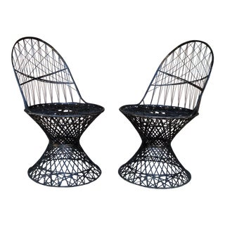 Vintage Fiberglass Chairs - a Pair For Sale