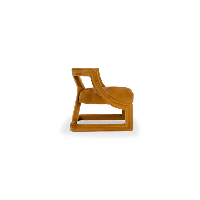 Not Yet Made - Made To Order Covet Paris Batak Bold Armchair For Sale - Image 5 of 10