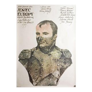 Jeniec Europy 1989 Polish B1 Film Poster For Sale