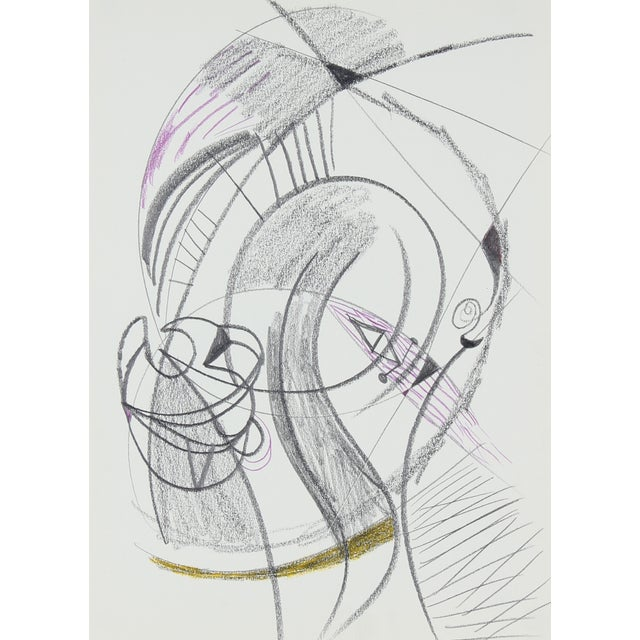 20th Century Sketch by Michael di Cosola For Sale