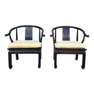 Century Furniture Asian Ming Style Chairs - A Pair