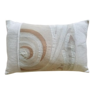 Contemporary Aubusson Custom Pillow For Sale
