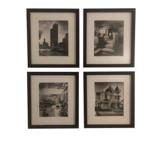 Vintage Framed Julius Shulman Photography Prints - Set of 4 For Sale