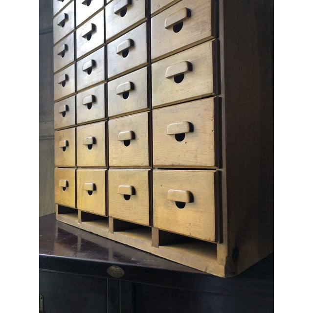 Antique Multi Drawer Cabinet For Sale In Chicago - Image 6 of 11