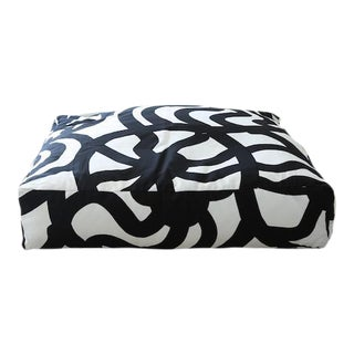 Marimekko Joonas Floor Pillow 32 X 32 For Sale