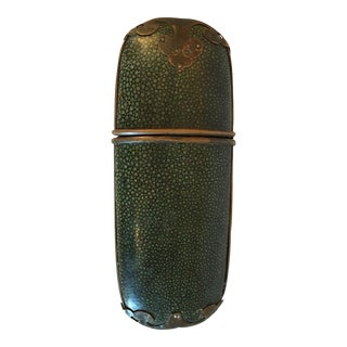 Antique Chinese Chagrin Eyeglass Case