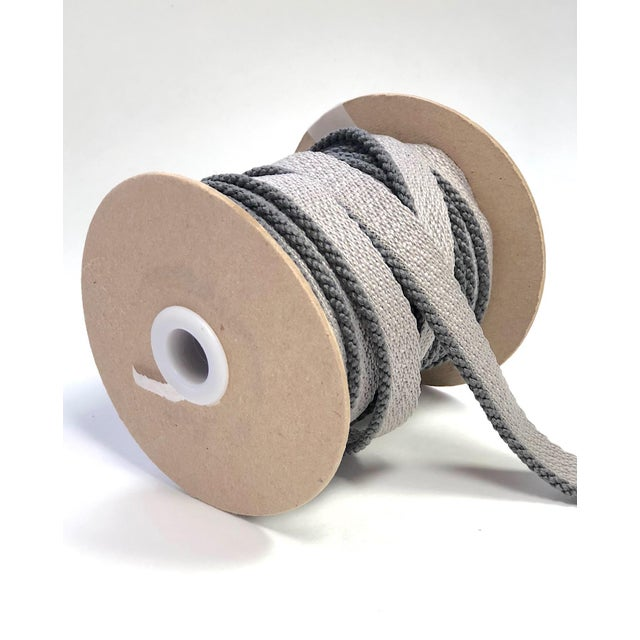 """Gray Cabled 1/8"""" Indoor/Outdoor Cording For Sale - Image 8 of 10"""