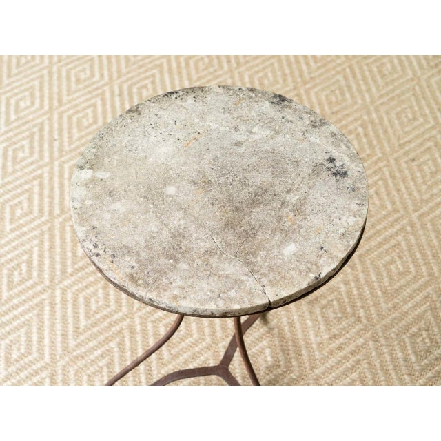 19th Century Bell Epoque Bistro Table For Sale - Image 4 of 5