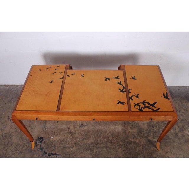 """Ebony Wendell Castle """"Goose Desk"""", 1983 For Sale - Image 7 of 10"""