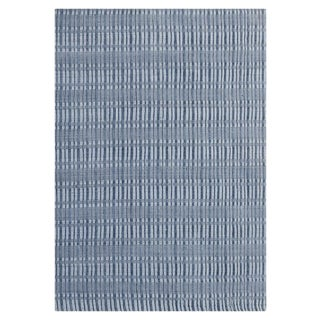 Hand-Knotted Wool & Bamboo Silk Modern Rug - 8′ × 9′11″ For Sale