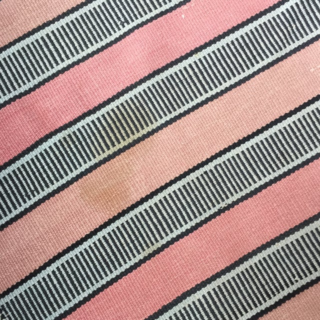 Vintage Woven Striped Runner Rug - 2′4″ × 8′2″ - Image 9 of 10