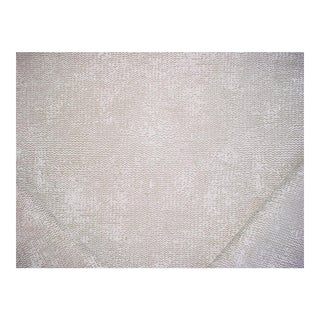 Transitional Stroheim Mycella Linen Wave Jacquard Drapery Upholstery Fabric - 2-5/8y For Sale
