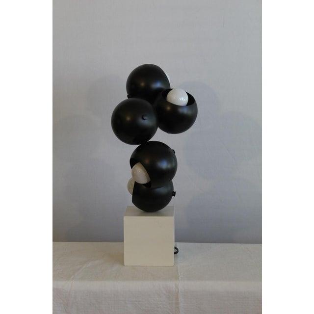 Modern Robert Sonneman sculptural Table Lamp. For Sale - Image 3 of 8
