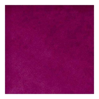 Belgian Mulberry Fuchsia Velvet Fabric - 36ʺW × 55ʺH For Sale