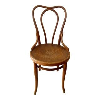 Antique Fischel Bentwood Bistro Chair