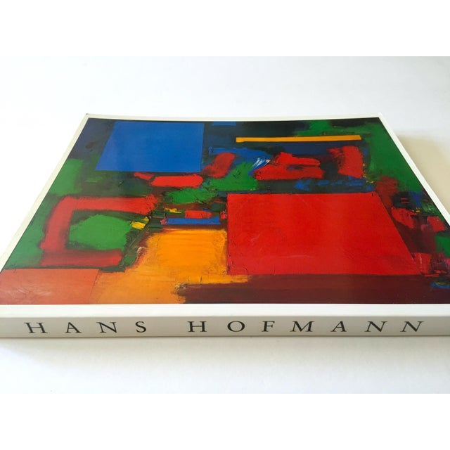 This Hans Hofmann rare vintage 1990 first edition Abstract Expressionist collector's softcover lithograph print exhibition...