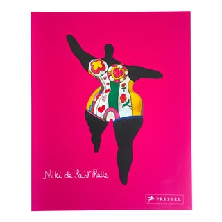 """ Niki De Saint Phalle "" First Edition French Modernist Monograph Art Book For Sale"