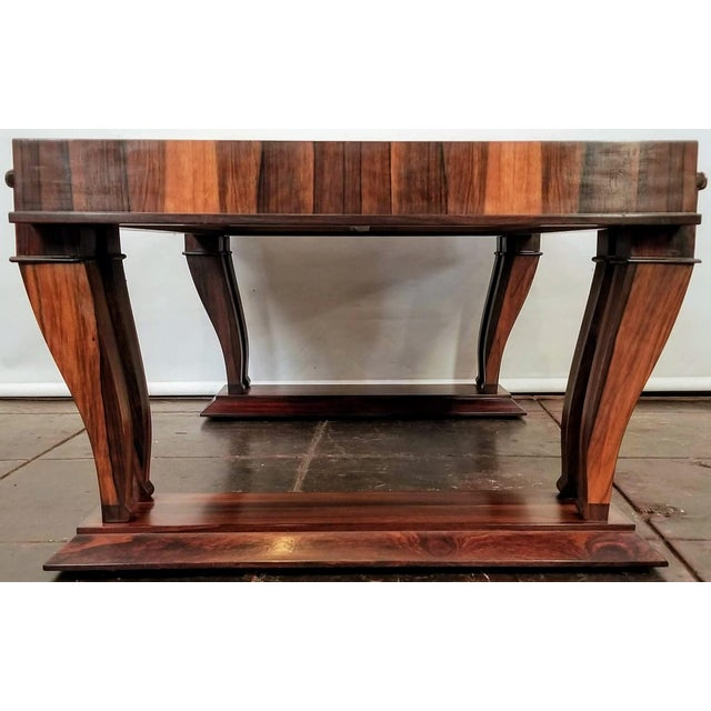 Traditional Style Bolivian Rosewood Coffee Table For Sale In San Diego - Image 6 of 10