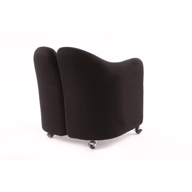 1970s 1970s Vintage Eugenio Gerli for Tecno Lounge Chairs- Set of 3 For Sale - Image 5 of 7