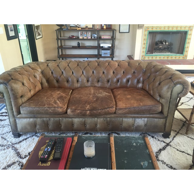 19th-Century Chesterfield Sofa - Image 2 of 8
