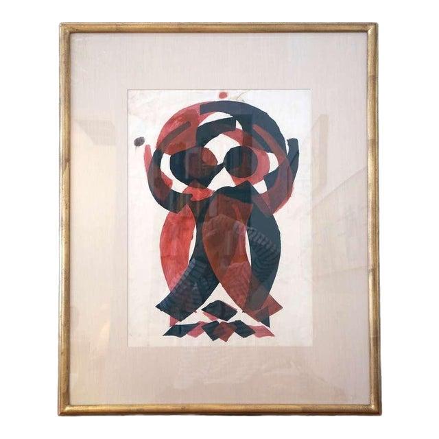Irving Lehman Modernist Original Work on Paper For Sale