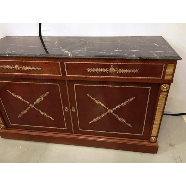 Neoclassical Russian Neoclassical Cabinets - Pair For Sale - Image 3 of 5