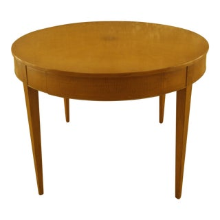 Gloria Lyknell Micheal Susnoski Maple Library Table For Sale