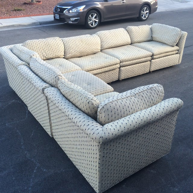 Sherrill Furniture Contemporary Six-Part Sectional - Image 4 of 10