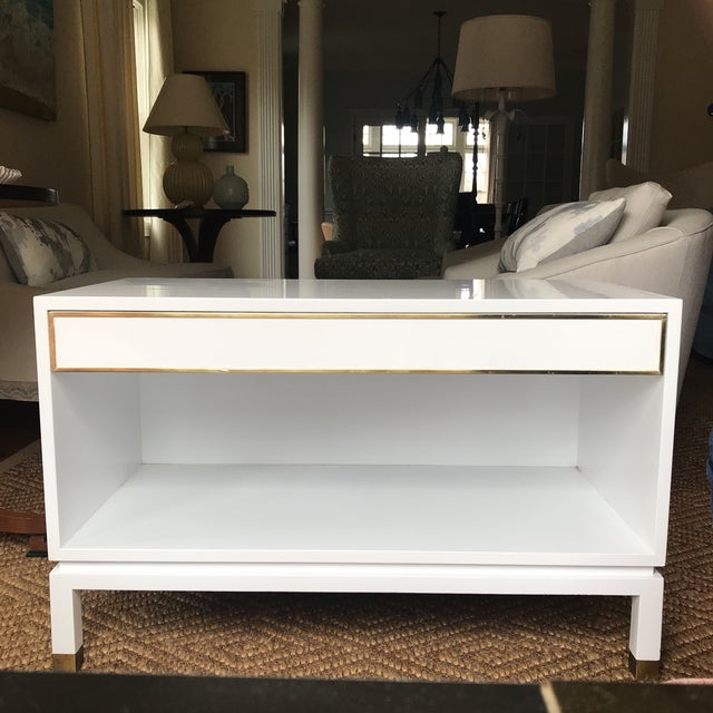 Harvey Probber White Lacquered Side Table For Sale - Image 10 of 10