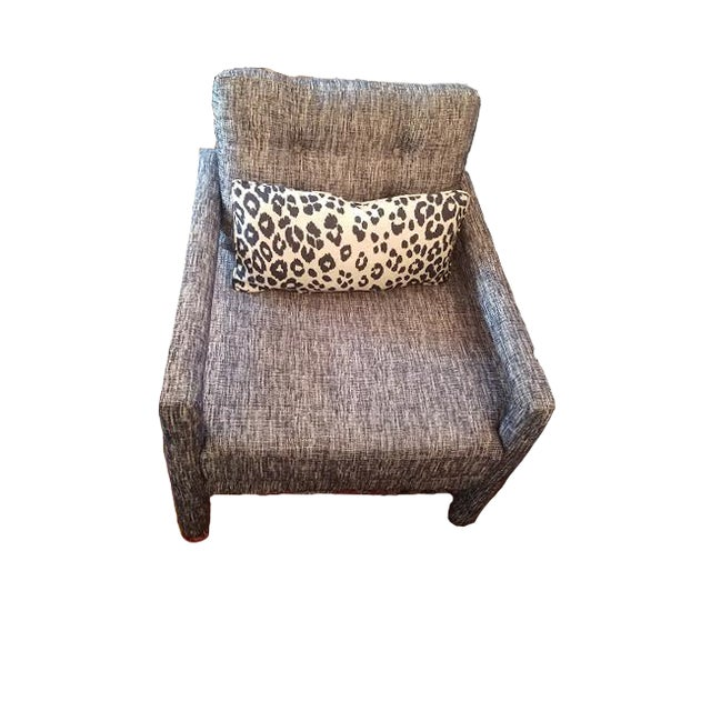 Mid-Century Modern Parsons Chair - Image 5 of 9