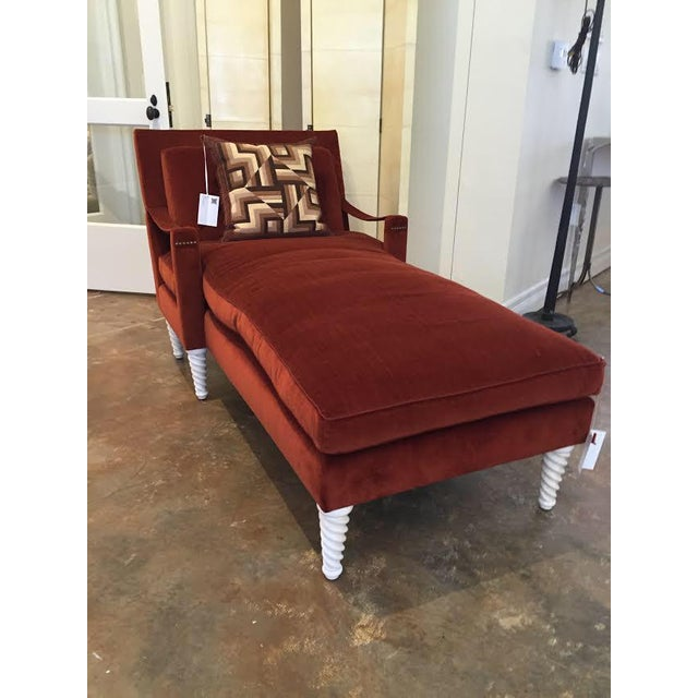 "1960s Truex American Furniture ""Pauline Chaise"" For Sale - Image 5 of 5"
