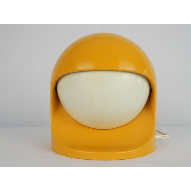 """Space Age Lightolier """"Interplay 2"""" Yellow Lamp For Sale - Image 9 of 13"""