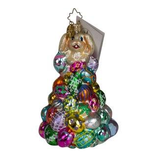 "Christopher Radko ""High Roller"" Easter Bunny Ornament For Sale"