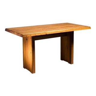Pierre Chapo Elm Dining Table, France, 1960s For Sale