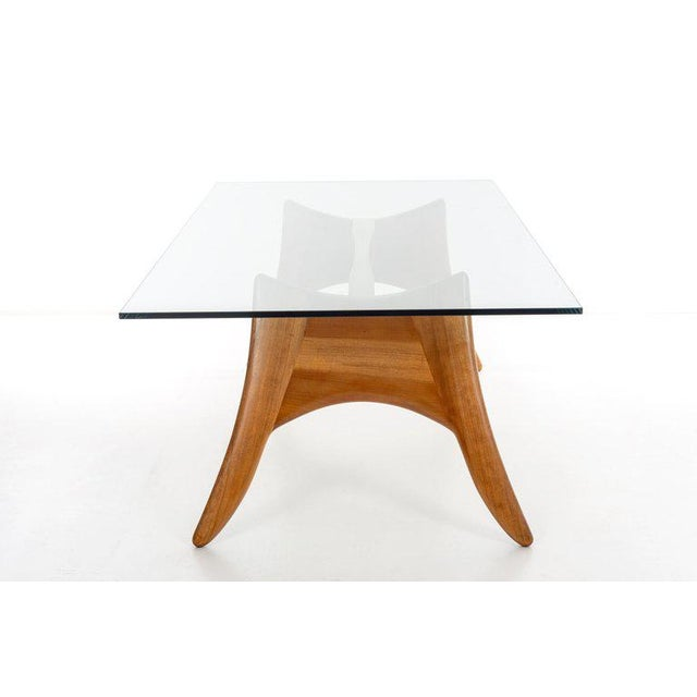 1970's California Craft Dining Table For Sale - Image 4 of 10