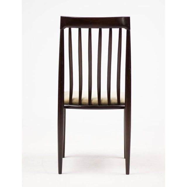 Strange Elegant Set Of Eight Danish Dining Chairs In Mahogany Ibusinesslaw Wood Chair Design Ideas Ibusinesslaworg