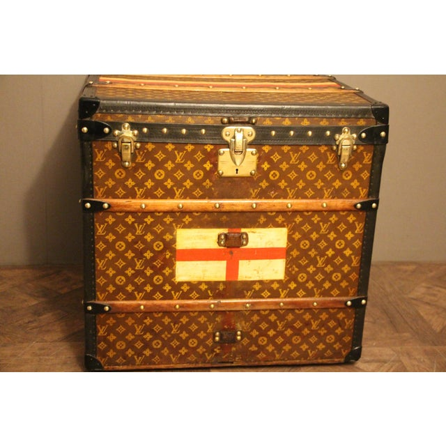 Louis Vuitton Cube Steamer Trunk For Sale - Image 10 of 13