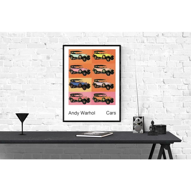 Andy Warhol- Mercedes Typ 400 (1925): Out-of-print Andy Warhol poster featuring the Mercedes Typ 400, 1925 multiple....
