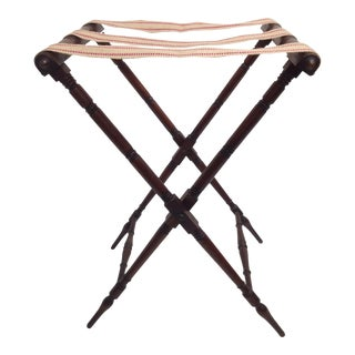 Antique English Butler's Tray Stand For Sale
