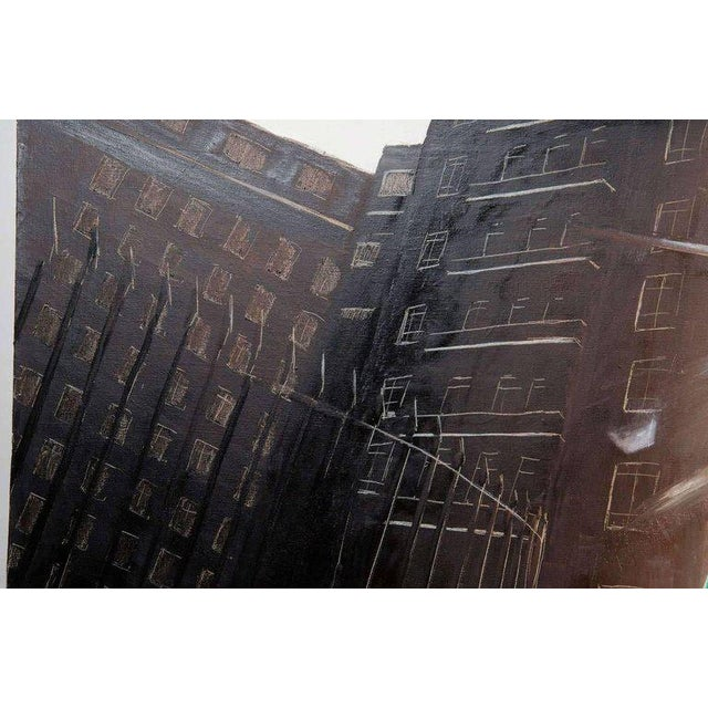 """Urban Painting by Stuart Bush """"Untitled 3"""" For Sale In New York - Image 6 of 8"""