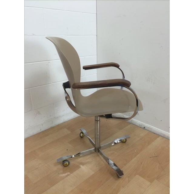Mid-Century Gideon Kramer Ion Desk Chair - Image 3 of 11