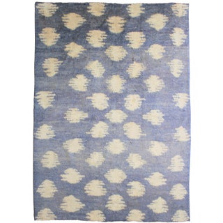 "Aara Rug Inc. Hand-Knotted Ikat Rug - 10'0"" X 8'3"" For Sale"