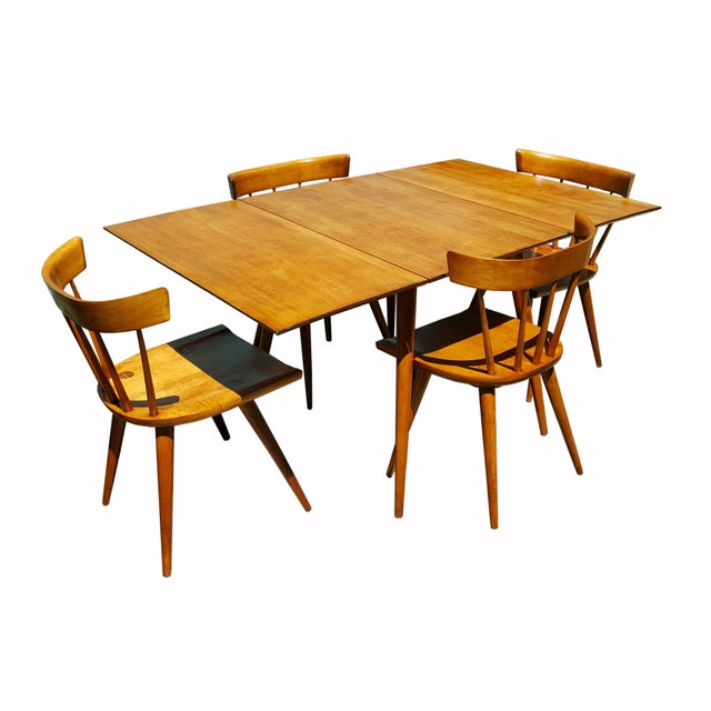 1950s 1950s Mid Century Modern Paul McCobb Planner Group Drop-Leaf Dining Table For Sale - Image 5 of 11
