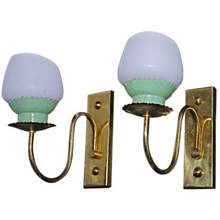 Italian Sconces by Stilnovo - a Pair For Sale