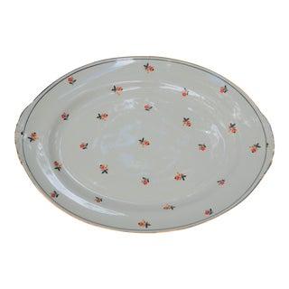 Vintage Eggshell Nautilus Serving Platter For Sale
