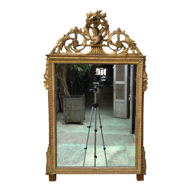 Louis XVI 18th Century Mirror For Sale