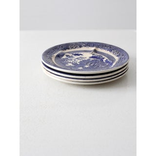 Allertons Blue Willow Plates - Set of 4 Preview