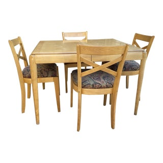 Heywood Wakefield Dining Set For Sale