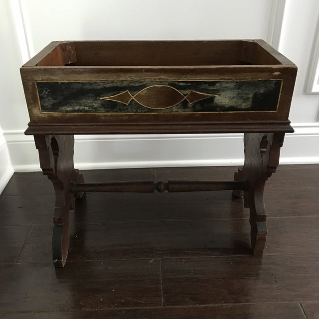 Traditional 19th Century Victorian Wooden Plant Stand For Sale - Image 3 of 6