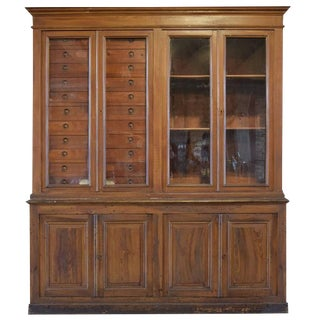 Italian Specimen Cabinet